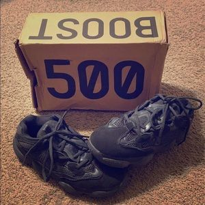 yeezy 500 (utility black)